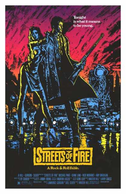 Essential Movies - Streets Of Fire Poster