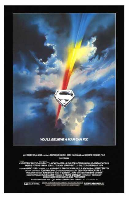 Essential Movies - Superman Poster