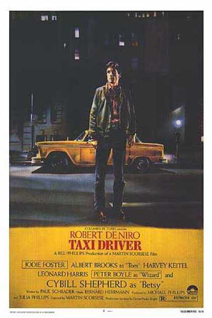 Essential Movies - Taxi Driver Poster