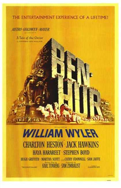 Essential Movies - Ben-hur Poster