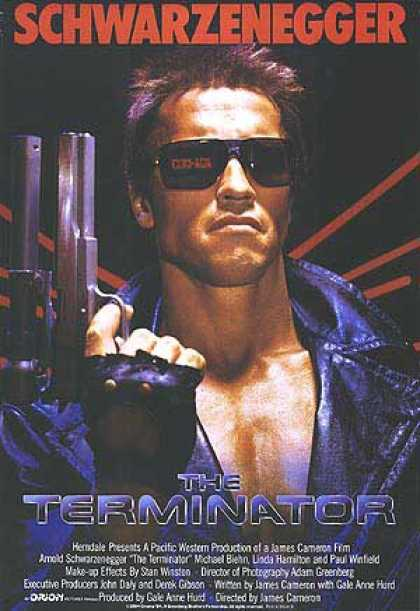 Essential Movies - Terminator Poster