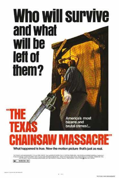 Essential Movies - Texas Chainsaw Massacre Poster