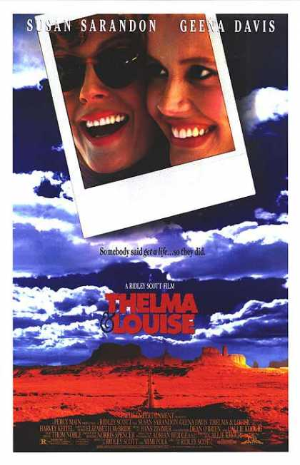 Essential Movies - Thelma & Louise Poster