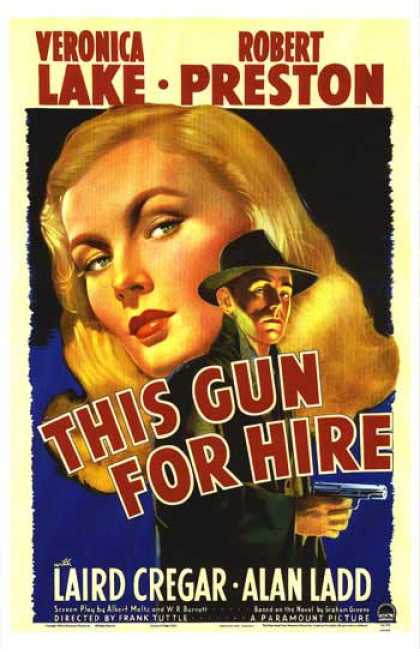 Essential Movies - This Gun For Hire Poster