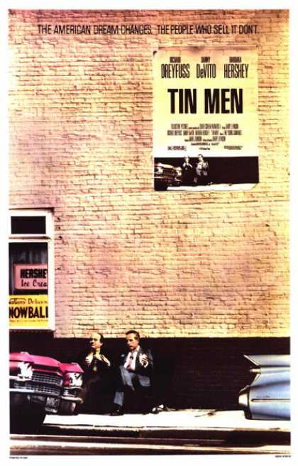 Essential Movies - Tin Men Poster