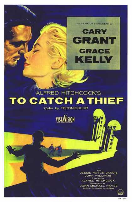 Essential Movies - To Catch A Thief Poster