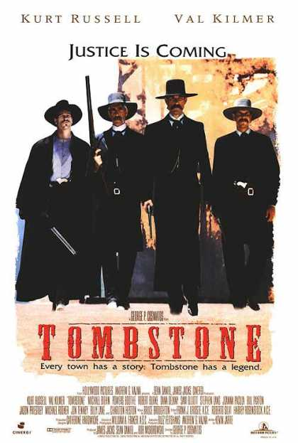 Essential Movies - Tombstone Poster