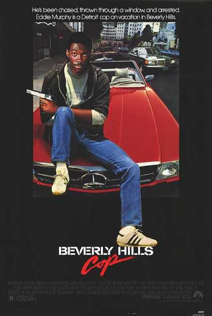 Essential Movies - Beverly Hills Cop Poster