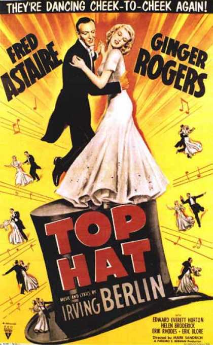 Essential Movies - Top Hat Poster