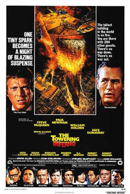 Essential Movies - Towering Inferno Poster