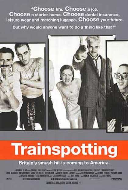 Essential Movies - Trainspotting Poster