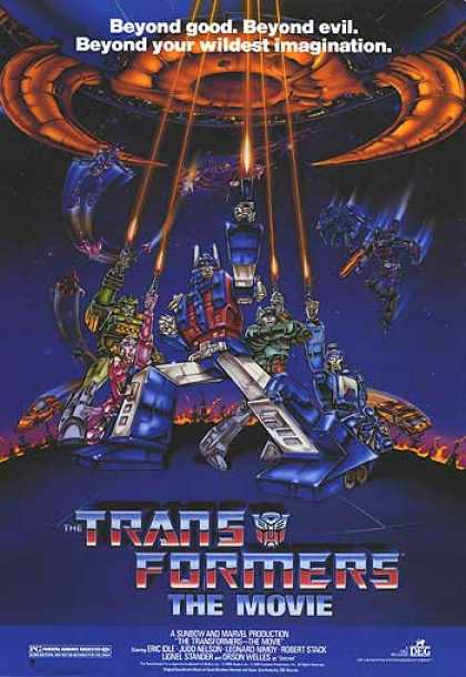 Essential Movies - Transformers: The Movie Poster