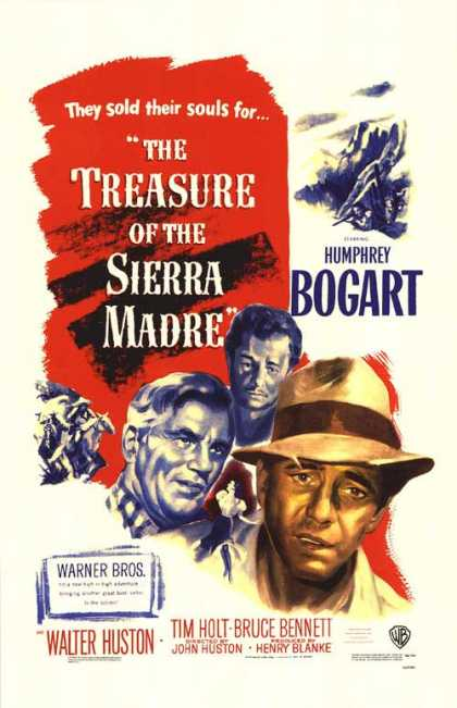 Essential Movies - Treasure Of The Sierra Madre Poster