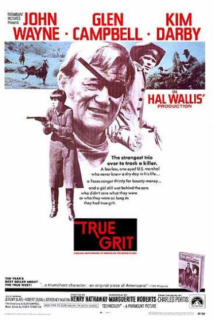 Essential Movies - True Grit Poster