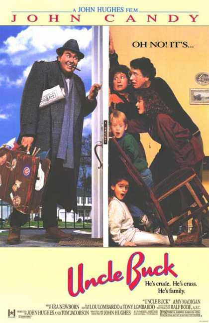 Essential Movies - Uncle Buck Poster