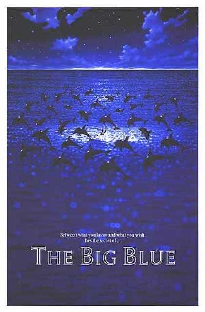 Essential Movies - Big Blue Poster