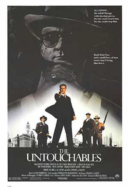 Essential Movies - Untouchables Poster