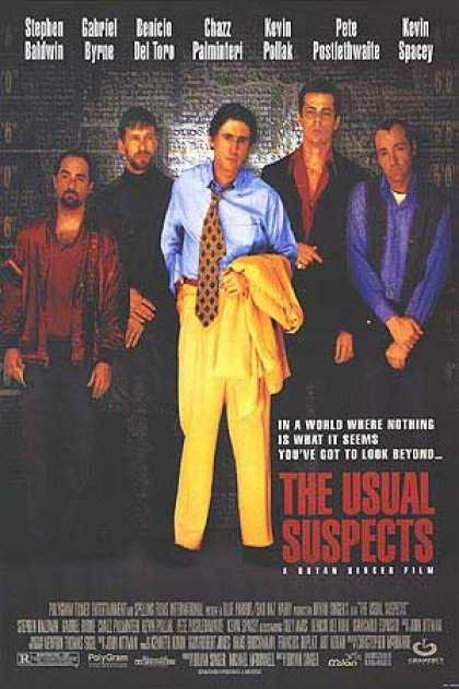 Essential Movies - Usual Suspects Poster