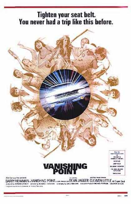 Essential Movies - Vanishing Point Poster