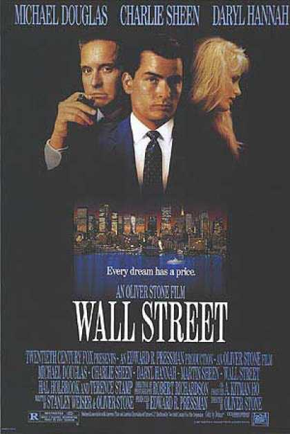 Essential Movies - Wall Street Poster