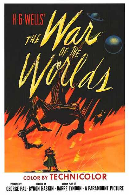 Essential Movies - War Of The Worlds Poster