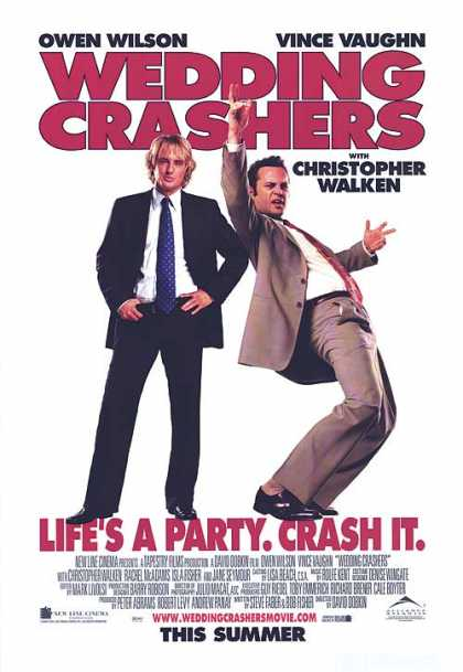 Essential Movies - Wedding Crashers Poster