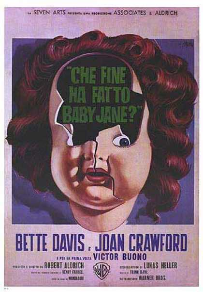 Essential Movies - What Ever Happened To Baby Jane? Poster