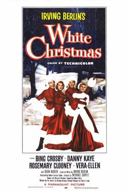 Essential Movies - White Christmas Poster