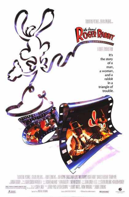 Essential Movies - Who Framed Roger Rabbit Poster