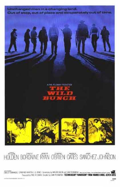 Essential Movies - Wild Bunch Poster