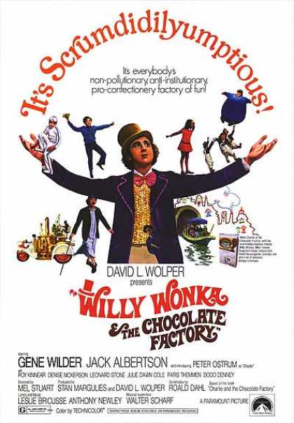 Essential Movies - Willy Wonka & The Chocolate Factory Poster