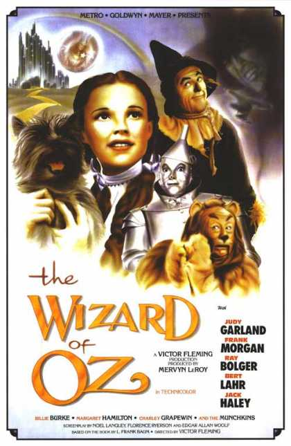 Essential Movies - Wizard Of Oz Poster