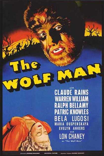 Essential Movies - Wolf Man Poster