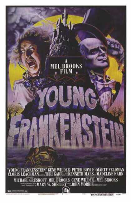 Essential Movies - Young Frankenstein Poster