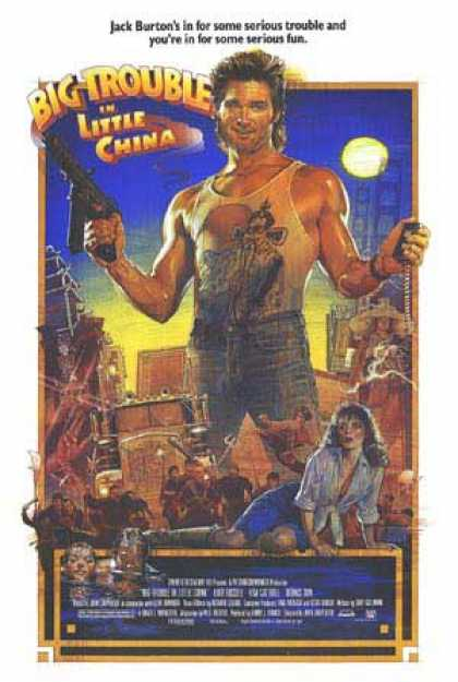 Essential Movies - Big Trouble In Little China Poster