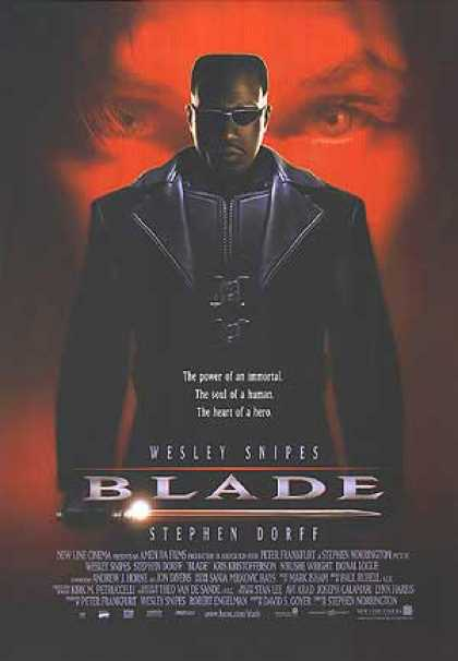Essential Movies - Blade Poster