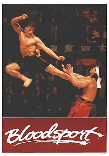Essential Movies - Bloodsport Poster