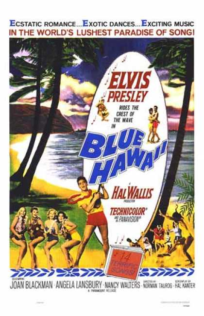 Essential Movies - Blue Hawaii Poster