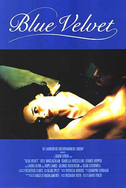 Essential Movies - Blue Velvet Poster