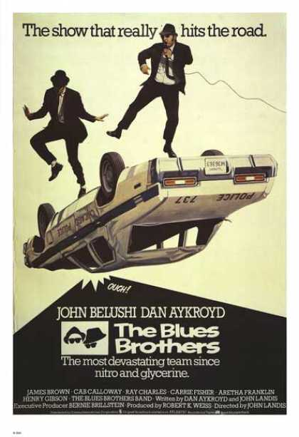 Essential Movies - Blues Brothers Poster