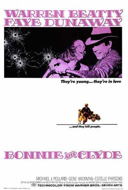 Essential Movies - Bonnie And Clyde Poster