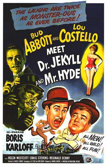Essential Movies - Abbott And Costello Meet Dr. Jekyll And Mr. Hyde Poster