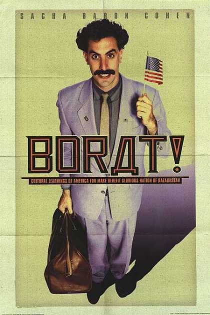 Essential Movies - Borat Poster