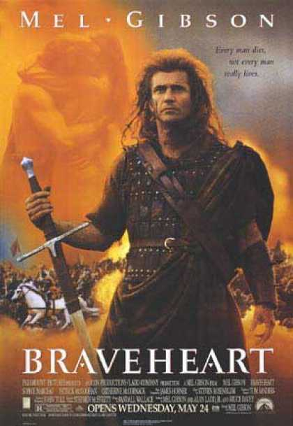 Essential Movies - Braveheart Poster