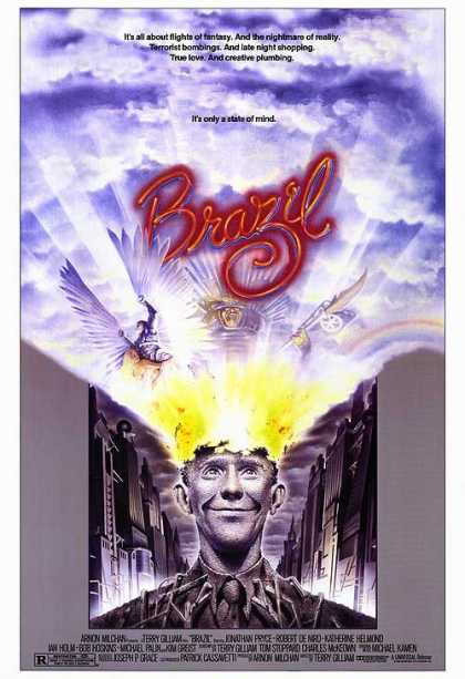 Essential Movies - Brazil Poster