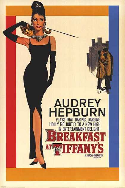 Essential Movies - Breakfast At Tiffany's Poster