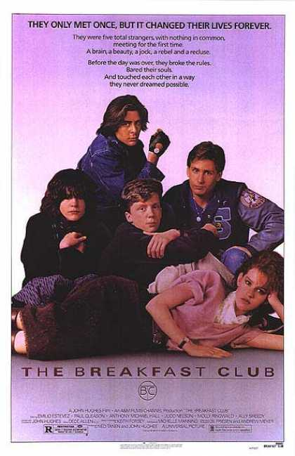 Essential Movies - Breakfast Club Poster