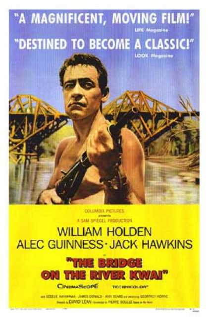Essential Movies - Bridge On The River Kwai Poster