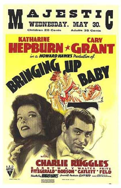 Essential Movies - Bringing Up Baby Poster