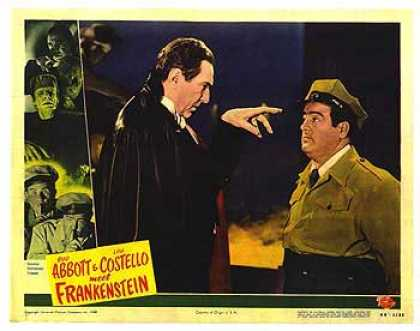 Essential Movies - Abbott And Costello Meet Frankenstein Poster